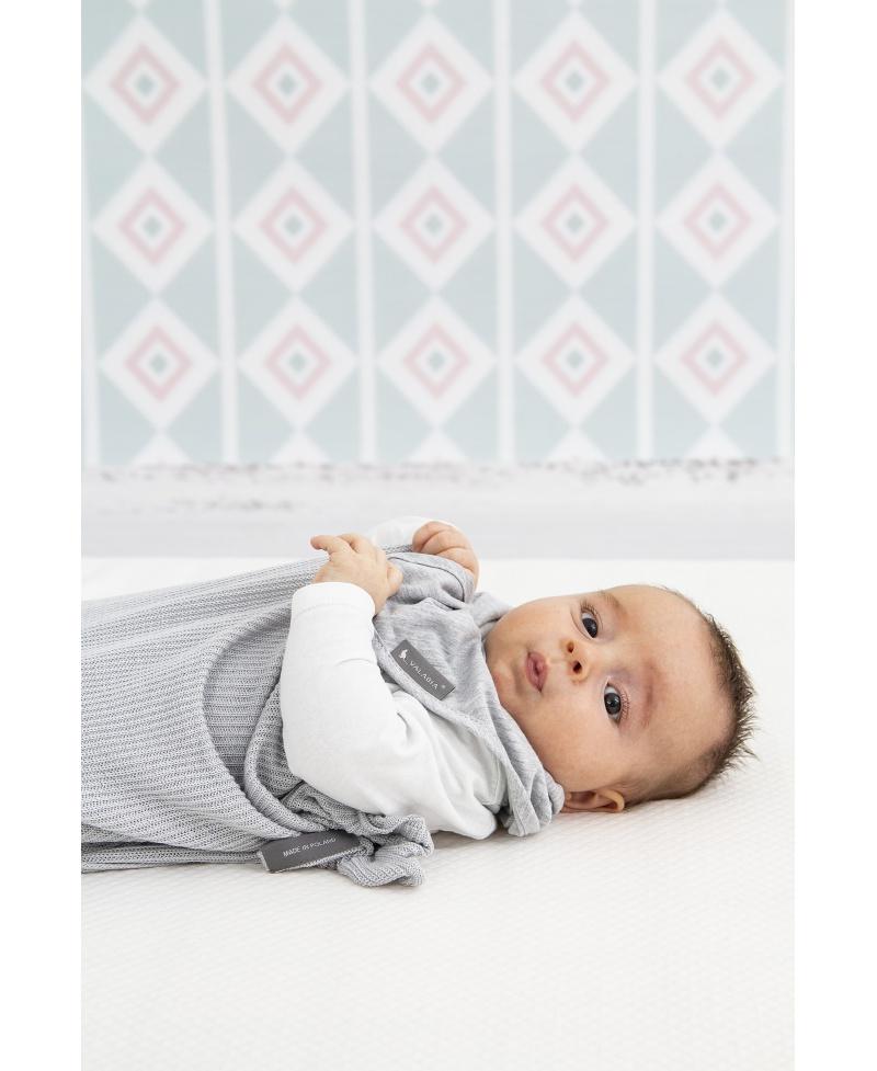 Apaszka śliniaczek dla niemowlaka i starszaka Melanż