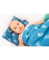 Duża kołderka-kocyk niemowlaka i starszaka BLUE