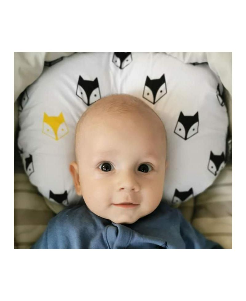 Specjalistyczna poduszka antywstrząsowa i modelująca główkę HEDDI FOX