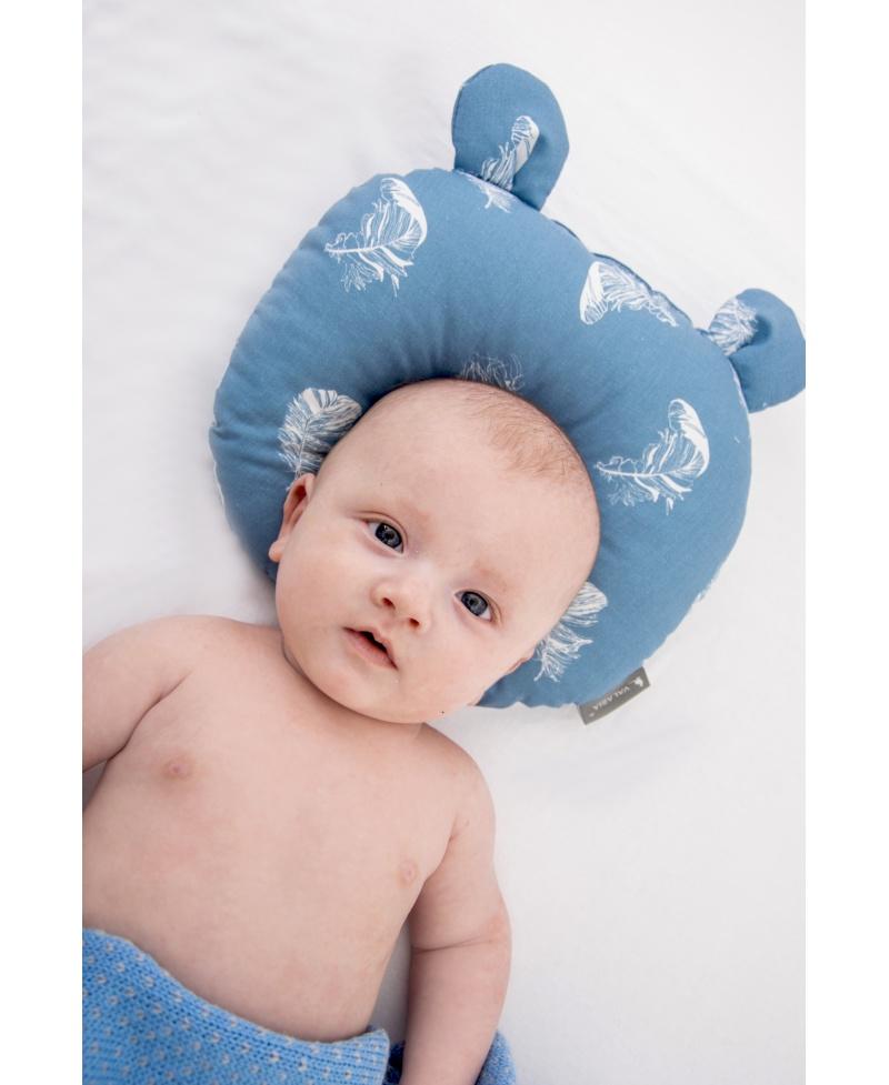 Poduszka modelująca główkę SOFI BLUE