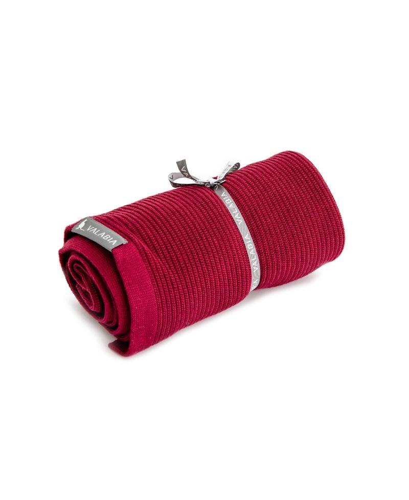 Kocyk bambusowy lekki jak mgiełka Red Rose