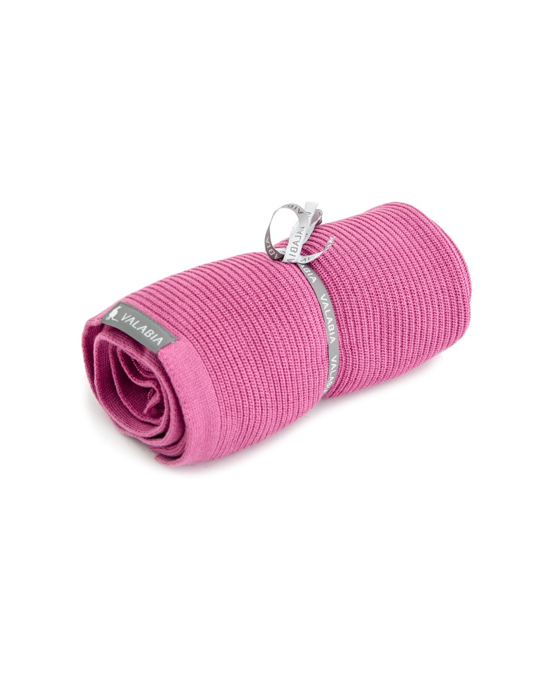 Kocyk bambusowy lekki jak mgiełka Vintage Pink