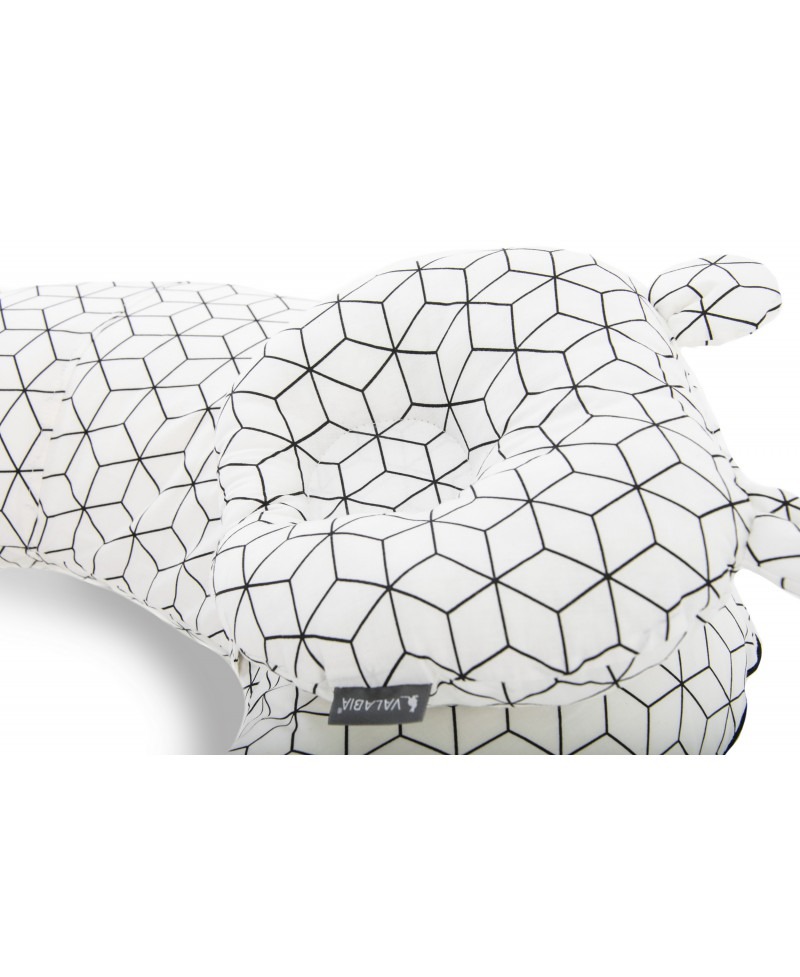 Zestaw  SOFI rogal do karmienia i poduszka modelująca główkę SHAPE