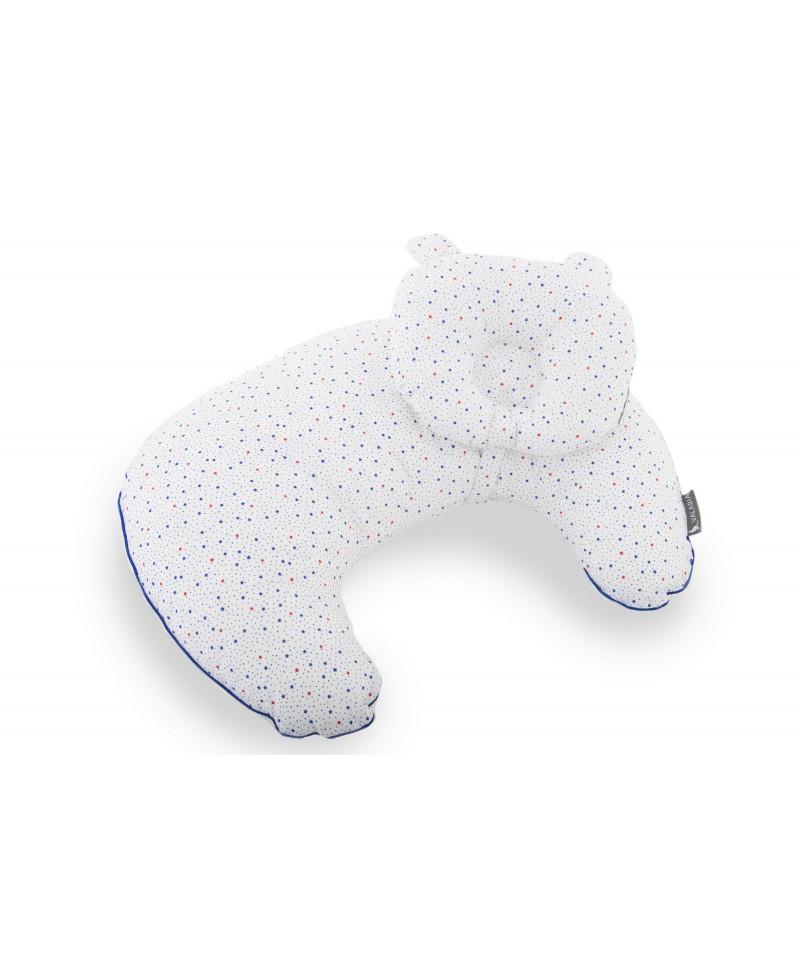 Zestaw  SOFI rogal do karmienia i poduszka modelująca główkę NIGHT