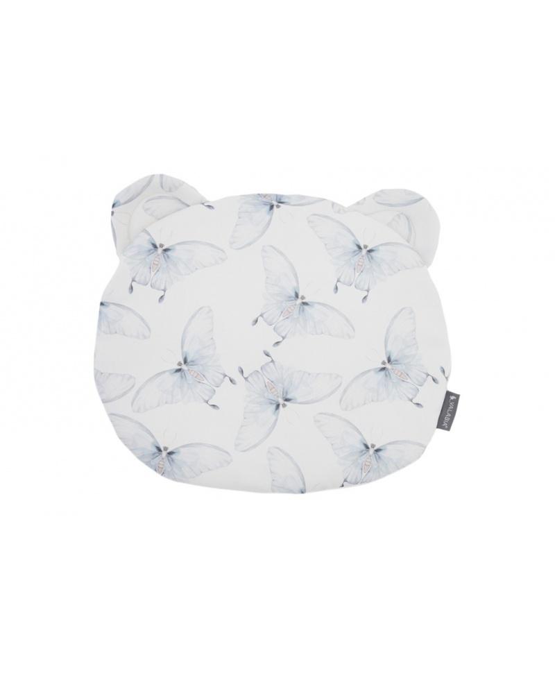 Bawełniana poduszka niemowlaka i starszaka Miś MOTYLE